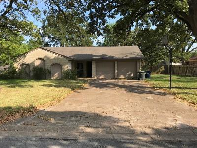 Single Family Home For Sale: 1206 Hawk Tree