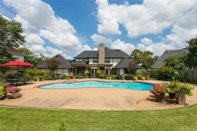 College Station Single Family Home For Sale: 2112 Bent Oak Street