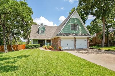Bryan Single Family Home For Sale: 2214 Dewberry Lane