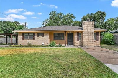 Bryan Single Family Home For Sale: 3205 Wilkes Street