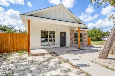Bryan Single Family Home For Sale: 706 Freeman