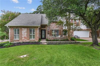 College Station Single Family Home For Sale: 8718 Bent Tree Drive