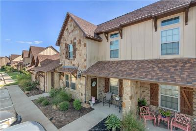 College Station, Bryan Condo/Townhouse For Sale: 3322 Cullen Trail