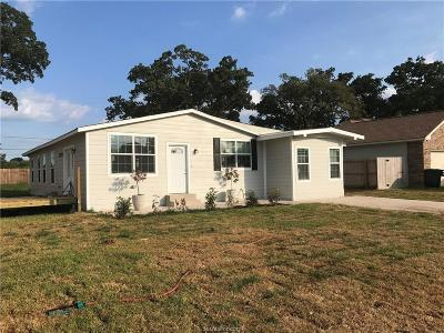 Bryan Single Family Home For Sale: 2201 Willhelm