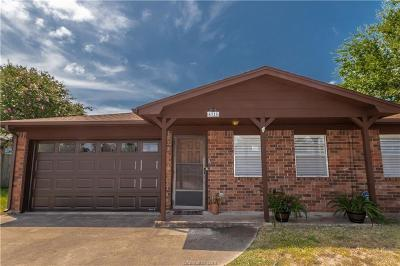 Bryan Single Family Home For Sale: 4318 Meadowbrook Drive