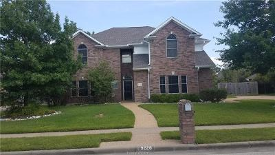 College Station Single Family Home For Sale: 9228 Brookwater