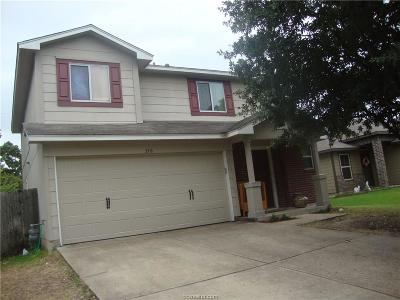 Brazos County Single Family Home For Sale: 3318 Judythe Drive