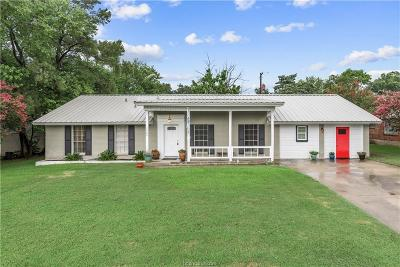 Bryan Single Family Home For Sale: 1400 Esther