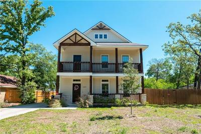 College Station, Bryan Single Family Home For Sale: 1209 Westover Street