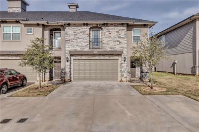 College Station, Bryan Condo/Townhouse For Sale: 3439 Summerway Drive