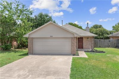 College Station, Bryan Single Family Home For Sale: 808 Azalea Court