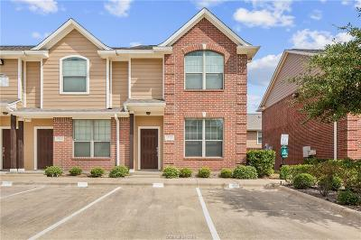 Brazos County Condo/Townhouse For Sale: 1000 Spring #1701