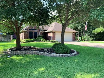 Bryan Single Family Home For Sale: 1705 White Stone Drive
