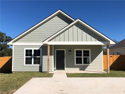 Bryan Single Family Home For Sale: 1208 Military Street