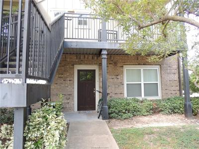 Brazos County Condo/Townhouse For Sale: 1725 Harvey Mitchell Parkway #1417