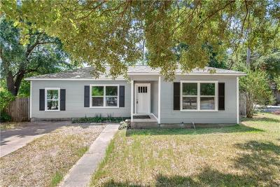 Brazos County Single Family Home For Sale: 401 Dunn Street