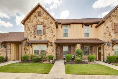 College Station Condo/Townhouse For Sale: 3330 Cullen Trail