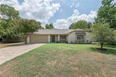 Bryan Single Family Home For Sale: 3701 Valley Oaks Drive