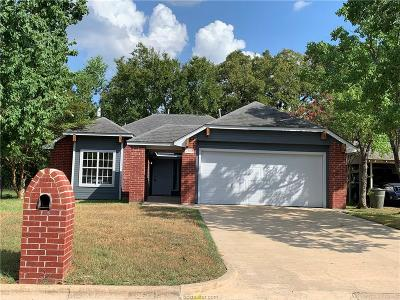 Bryan Single Family Home For Sale: 2406 Driftwood Drive
