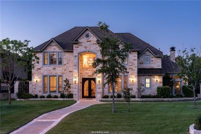 Bryan TX Single Family Home For Sale: $799,000