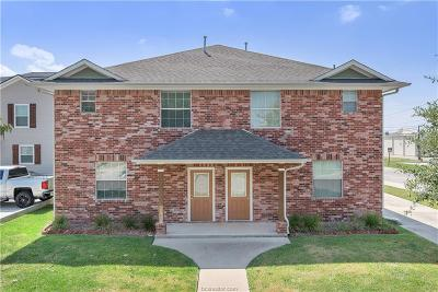 College Station Multi Family Home For Sale: 300 Ash St, 401 Live Oak St