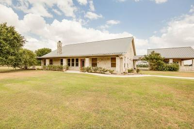 Grimes County Single Family Home For Sale: 3183 County Road 145
