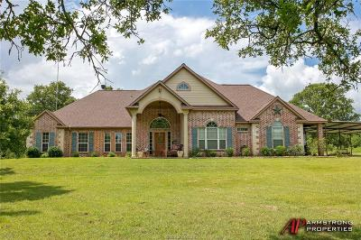 Burleson County Single Family Home For Sale: 4633 County Road 310