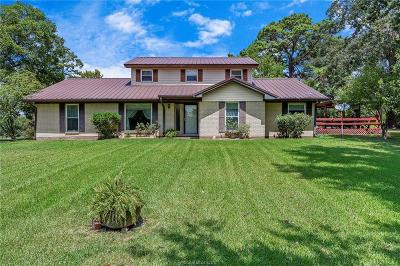 Grimes County Single Family Home For Sale: 7562 County Road 217