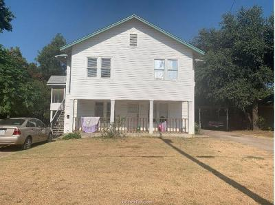 Milam County Multi Family Home For Sale: 106 North College Avenue #106, A &