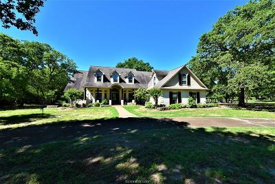 Burleson County Single Family Home For Sale: 5533 County Road 378 (+/- 12 Acres)