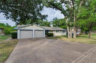 College Station Single Family Home For Sale: 1503 Glade Street