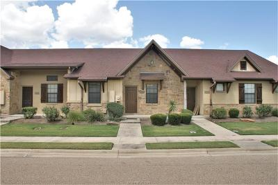 College Station Condo/Townhouse For Sale: 3308 General Parkway