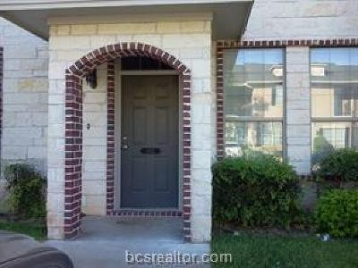 College Station Condo/Townhouse For Sale: 402 Forest Drive