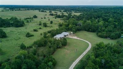 Grimes County Single Family Home For Sale: 4055 Fm 1696