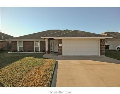 College Station Single Family Home For Sale: 1107 Mallory Court