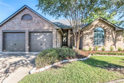 College Station Single Family Home For Sale: 1721 Starling Drive