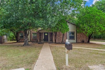 College Station Single Family Home For Sale: 8601 Topaz Court