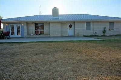 Burleson County Single Family Home For Sale: 18312 County Road 433