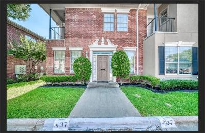 College Station Condo/Townhouse For Sale: 437 Forest Drive #BLDG A