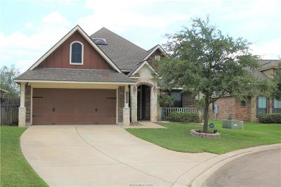 College Station Single Family Home For Sale: 4108 Cripple Creek Court