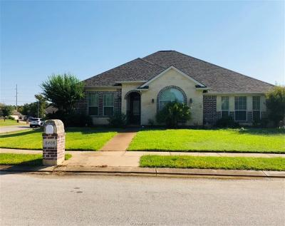 College Station Single Family Home For Sale: 8408 Turtle Rock