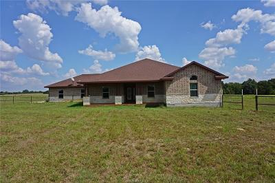 Burleson County Single Family Home For Sale: 8734 State Highway 21