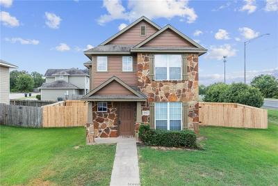College Station TX Single Family Home For Sale: $179,900