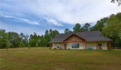 Robertson County Single Family Home For Sale: (+/-26ac) 1170 Pfistner Road
