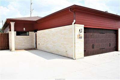 Brazos County Single Family Home For Sale: 4100 South Texas Avenue