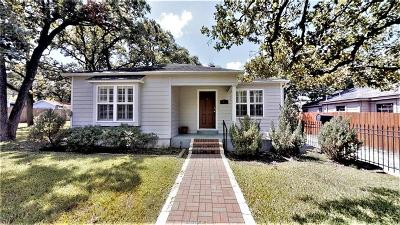 Brazos County Single Family Home For Sale: 1409 Fannin Street