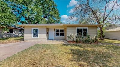 Brazos County Single Family Home For Sale: 202 Walton Drive