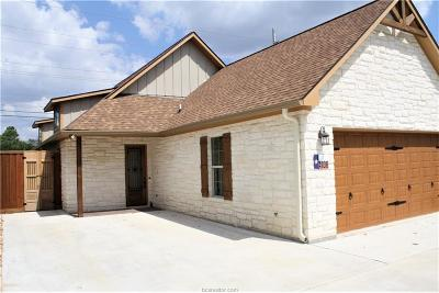 Brazos County Single Family Home For Sale: 4106 South Texas