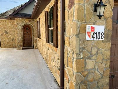 Brazos County Single Family Home For Sale: 4108 South Texas