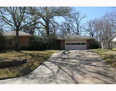 Bryan TX Single Family Home Sold: $139,500